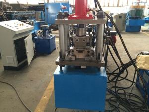 China FD - Curtain Panel Metal Roll Forming Machine Manual Feeding , 3 Ton Capability on sale