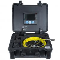 China HVB 30m 120 viewing degree with 7 Inch LCD Monitor sewer pipe inspection camera on sale