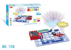 China Engineering STERM Electric Circuits Building Block Educational Toys DIY Learning Kit on sale