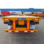 Port transport CIMC 3 Axle 40ft 12M Skeletal Container Trailer