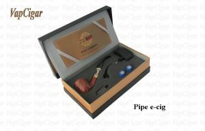 China 3.7V 156mm 950mAh Clear Pipe Shaped E Cig Vapor Smoke Pipe E-Cig on sale