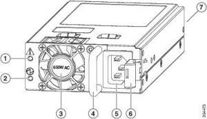 Cisco N9K-PAC-650W Cisco Nexus 9300-EX and 9300-FX Platform Switches