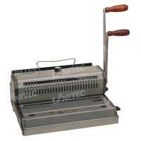 WB-2220 Wire Manual Binding Machine Two Handle Electric Punching Holes