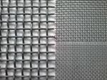 Fencing SS Woven Crimped Wire Mesh With 5mm-25mm / Customized Hole Size