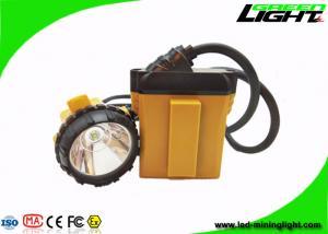 China LED 10.4Ah SAMSUNG Battery Minig headlight 25000lux Aluminum lighting Cup IP68 on sale