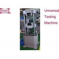 EN10002-1 Standard Ultimate Tensile Strength Testing Machine 1500kg HUT305A-TP