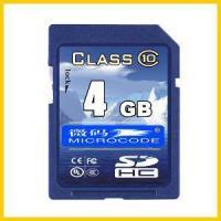 4GB SD Card Memory Class10 CE/RoHS/FCC (CG-SD-04GB-01)