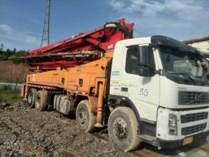 China Used  Putzmeister 42M Concrete Pump Truck and Putzmeister concrete pump truck on sale