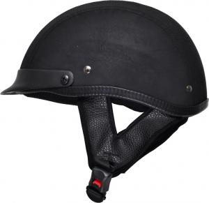 China Leather Motorcycle Scooter Half Helmet TN-8617 Top Sale on sale