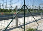 A rede de arame verde da Holanda do jardim, PVC revestiu o fio galvanizado que cerca a malha
