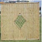 barrière en bambou