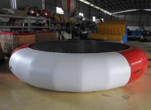 China Inflatable Water Toys 0.9mm PVC Tarpaulin Floating Circle Customize Color on sale