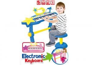 China Electronic Piano Keyboard For Kids 37 Key Children's Musical Toys Blue / Pink Color on sale