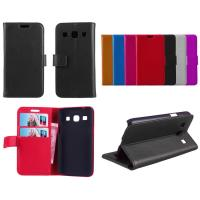 Colorful Samsung Galaxy Leather Case Core Plus G3500 Wallet Phone Protective Cases