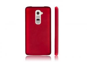 China Eco Friendly LG Mobile Phone Cases OEM Red Plastic Shock Resistant Phone Case on sale