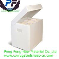 2-6 mm white/black/blue/green/yellow color polypropylene foldable plastic coroplast boxes for packing industry
