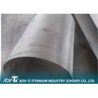 China Platinum Coated Titanium Wire Mesh Gr1 Custom Long Lifetime on sale