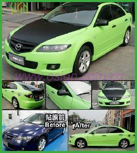 China Bubble Free Color Vinyl Car Sticker (OWV221) on sale