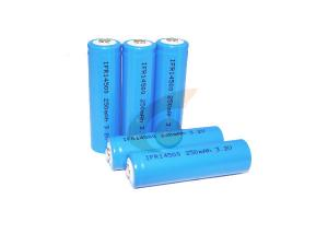 China 3.2V Lifepo4 Battery  AA  14500  250mah For Solor Light and Lawn Lamp on sale
