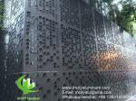 CNC Decorative Aluminium Sheet Wall Cladding Curtain Wall Patterned Facade Ceiling Supply