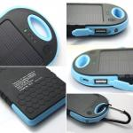 5000mAh Solar Charger Power Bank for Mobile Phone OEM/Private Label
