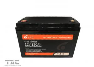 China 2000 Times Circle Life 120Ah 12V LiFePO4 Batteries For Boats EV on sale