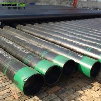 China 5 / 8 Inch Stainless Steel Well Casing Pipe , Oil Transporting Slotted Bore Casing Tubing on sale