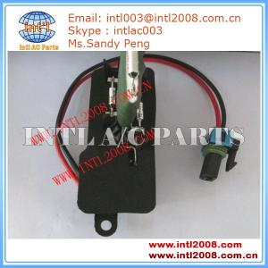 China 89018537 15-80560 Heater Blower Resistor for Chevrolet Truck Express /GMC Truck Savana Radiator Fan Motor Resistor on sale
