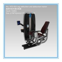 3mm Steel Light Commercial Gym Equipment , Hip Abduction And Adduction Machine