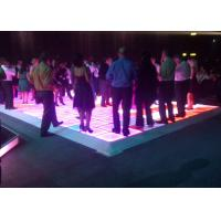 Stage Interactive Led Dance Floor Panels , Interactive Led Screen
