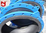 Ductile Cast Steel Single Sphere Rubber Expansion Joint 55% Rubber Content Spherical Structure