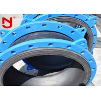 Ductile Cast Steel Single Sphere Rubber Expansion Joint 55% Rubber Content Spherical Structure