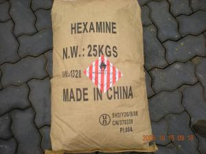 China Chemical Raw Material Hexamine Hexamethylenetetramine, Cas 100-97-0 Unstabilized Urotropine 99.3% on sale