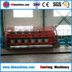 China Energy save bare copper wire Separate Motor SKET Type Rigid Stranding Machine For Cable Assemblies on sale