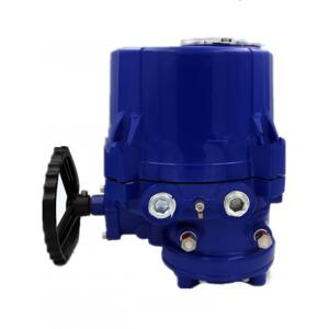 China Aluminum Alloy Quarter Turn Electric Actuator , 24V DC Electric Valve Actuator on sale