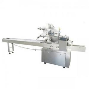 China High Speed Pillow Packing Machine label sticking machine on sale