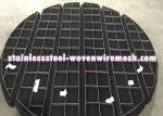 Titanium Wire Mesh Demister Pad Mist Eliminator Round Anti - Corrosion
