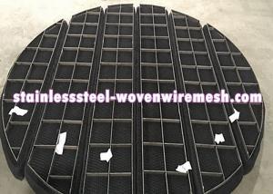 China Titanium Wire Mesh Demister Pad Mist Eliminator Round Anti - Corrosion on sale