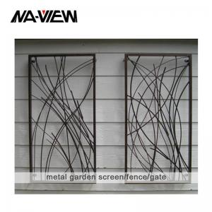 China ODM 6 Meters Decorative Metal Fence Panels For Apartment on sale
