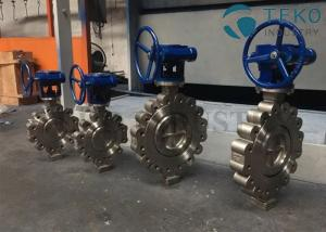 China Triple Offset Butterfly Valve Low Ownership Stainless Steel CF8 Metal Seated on sale