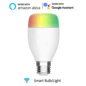 China RGB Light Color WIFI Smart LED Light Bulb Support Smart Configure Net Technology on sale