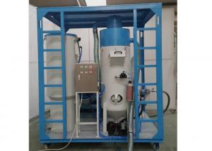 China 11kw Roots Blower Vacuum Sandblasting Equipment?, 60m Hose Shot Blasting Machine on sale