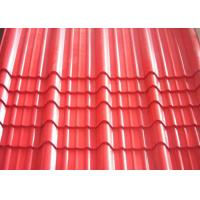 Roofing Corrugated Steel Sheet PPGI Prepainted Galvanized For High Strength Steel Plate