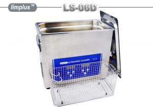 China LS - 06D 6.5 Liter Digital Pipe Tube Ultrasonic Cleaner Machine / Ultrasonic Cleaning Bath Lab Use on sale