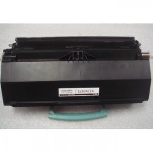 China Cartucho de tinta de E260 Lexmark usado para el color del negro de E260 E260D E260DN E360D on sale