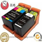 Cartouche d'encre compatible de Dell 21/22/23/24BK pour V313/V313W/V515W/P513W/P713W/V715W