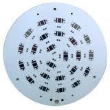 China White Round Aluminum Base High Power LED PCBs board for High-power transistors 8kv on sale