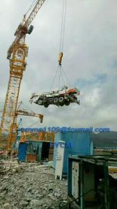 China OEM TC6520 Topkit Tower Crane 60Hz Power CIF Halifax NS Canada on sale