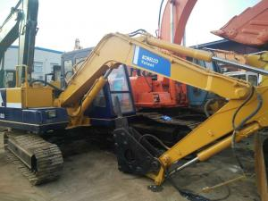 China sk03 sk07 sk06 sk60 sk200-5 1996 japan kobelco mini excavator for sale 0.3m3 capacity 6000 hour  used kobelco excavator on sale