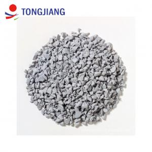 China 20 years manufacturer of high gel environmental SGS Labo test grey EPDM rubber granules on sale